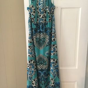 INC International Concepts Dresses - INC printed maxi dress